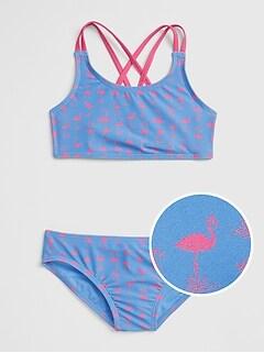 5fec8355602ea Print Swim Two-Piece