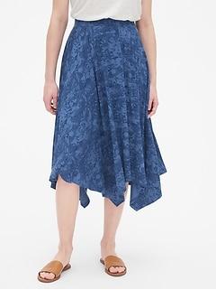 93158ccec6 Handkerchief Midi Skirt