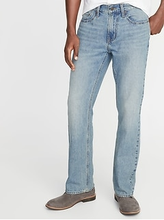536282200b0 Rigid Boot-Cut Jeans for Men