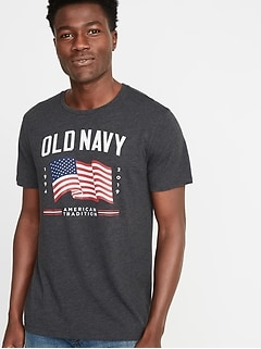 93a95695b38 2019 Flag Graphic Tee for Men