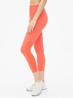 6cd6458be2ded GapFit High Rise Blackout 7/8 Leggings with Perforated Detail
