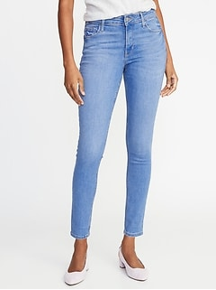 0495639b175a9 Mid-Rise Super Skinny Rockstar Jeans for Women