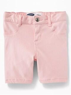 fb918f88072 Pink 24 7 Denim Bermudas for Toddler Girls