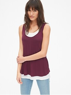 cf6ca33d6 Ingrid and Isabel® Seamless Crossover Nursing Tank.  49.95. Perfect for  Nursing. Maternity Double-Layer Nursing Tank Top