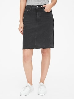 3988ae60a5e5d Denim Pencil Skirt
