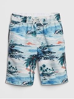21cc0283fd Kids Print Swim Board Shorts