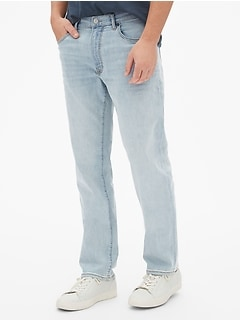 052ccec7fb1457 Wearlight Straight Jeans with GapFlex