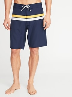 9ae0a7bce6 Built-In Flex Board Shorts for Men -10-inch inseam