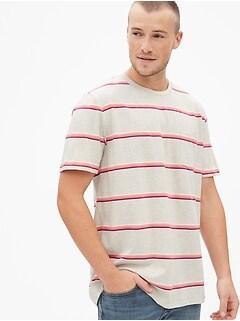 1a58d7fe7edf Stripe Pocket T-Shirt