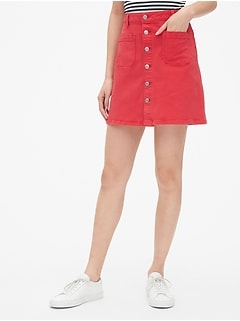 Gap Misses 8 Black Twill Solid A-line Skirt Discounts Sale Skirts Clothing, Shoes & Accessories