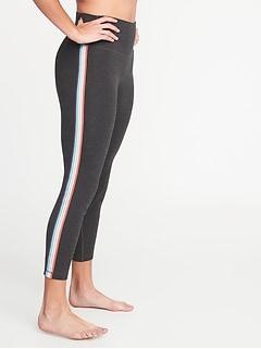 5a3f0c0145fba5 High-Rise Side-Stripe 7/8-Length Balance Yoga Leggings for Women