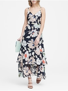958713fc5a Floral Tiered Maxi Dress