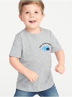 46ed6aa7 Mini-Me Graphic Tee for Toddler Boys