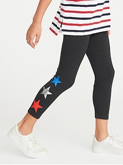 a851a09136 Cropped Jersey Leggings for Girls