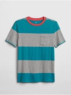 96ac7914 Kids Stripe Short Sleeve T-Shirt