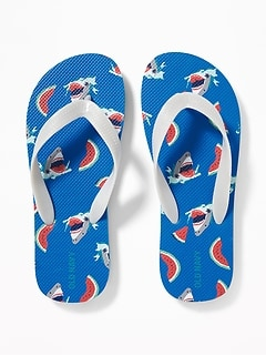 786245bde Printed Flip-Flops for Boys
