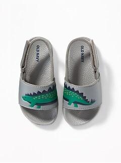 491aeb9e3b4622 Pool Slide Sandals for Toddler Boys