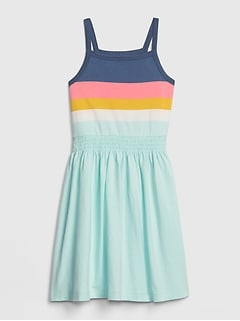 bb647726b75 Kids Colorblock Fit And Flare Dress