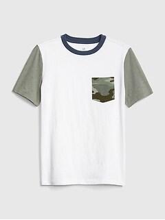03cab9ab3fac Camo-Pocket Short Sleeve T-Shirt