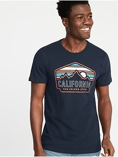 f0cb02984 Soft-Washed Graphic Tee for Men