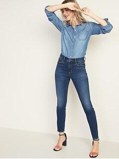 b411c078 High-Rise Secret-Slim Pockets Pop Icon Skinny Jeans for Women