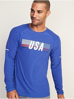 56afed5a2595 Ultra-Soft Breathe ON Built-In Flex Graphic Tee for Men