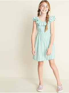 Kids' Clothing, Shoes & Accs Gap Dress For Girls Aged 6-7