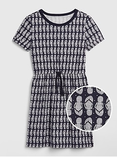 ee2ba6fed24 Kids Print Short Sleeve Dress