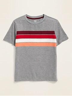 10f7da00f Chest-Stripe Softest Tee for Boys