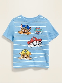 fc1e5b472d516 Paw Patrol™ Striped Graphic Tee for Toddler Boys
