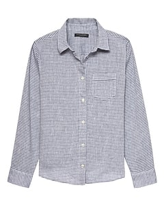 df20f5930 Women's Button-Up Shirts | Banana Republic