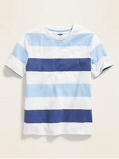 7b5975830 Bold-Stripe Softest Tee for Boys