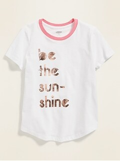 22f620b0b Graphic Crew-Neck Tee for Girls