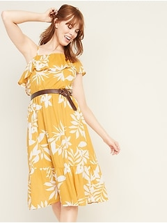 7f9abc0a7822 Best Seller. Waist-Defined One-Shoulder Midi for Women