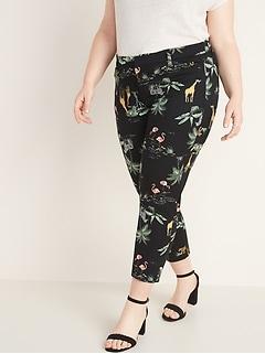 d70cdfce027f2 Mid-Rise Secret-Slim Pockets Plus-Size Pixie Ankle Pants