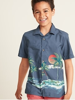 10718e582 Boys' Long-Sleeve & Button Up Shirts | Old Navy