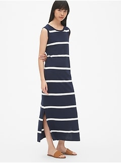 e1e97a557ff3 Soft Slub Stripe Maxi Dress