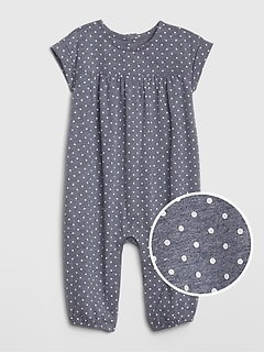 aa314bfaf Baby Dolman-Sleeve One-Piece