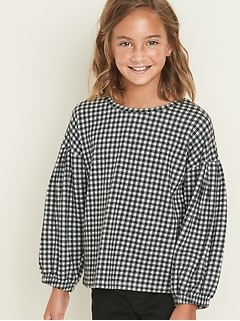 size 40 9164f 24f59 Girls' Shirts & Blouses | Old Navy