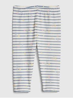 """GAP Baby Girls Size 0-3 Months 2-Pack Pink Cotton /""""Favorite/"""" Leggings Pants"""