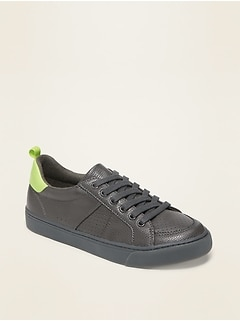 Oldnavy Faux-Leather Sneakers for Boys