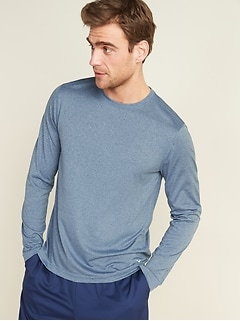Oldnavy Go-Dry Cool Odor-Control Core Long-Sleeve Tee for Men