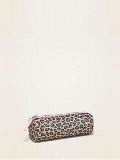 Oldnavy Zip-Top Pencil Case for Girls