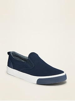 Oldnavy Canvas Slip-On Sneakers for Boys
