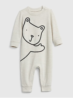 NWT GAP Bear Graphic Cable Knit Tights Bear Face Soft Ivory Frost 2T 3T 4T 5T