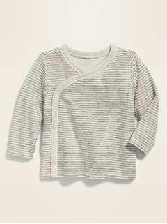 Oldnavy Striped Wrap-Front Kimono Top for Baby Hot Deal