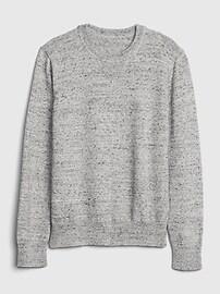 갭 키즈 남아용 스웨터 GAP Kids Crewneck Sweater,light heather grey