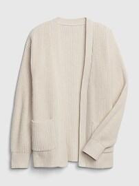 갭 여아용 오픈 가디건 GAP Kids Open-Front Cardi Sweater,soft ivory