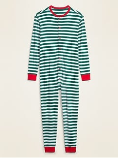 Oldnavy Soft-Washed Waffle-Knit One-Piece Pajamas for Men