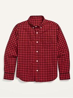 Oldnavy Built-In Flex Poplin Pocket Shirt for Boys